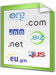 Free Domains: .com, .net, .org, .eu5.net, etc.